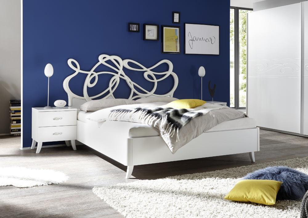 nowoczesne łóżko do sypialni