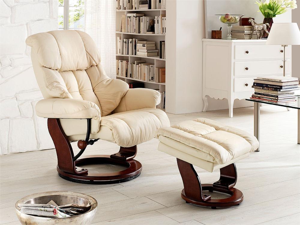 fotel telewizyjny skórzany