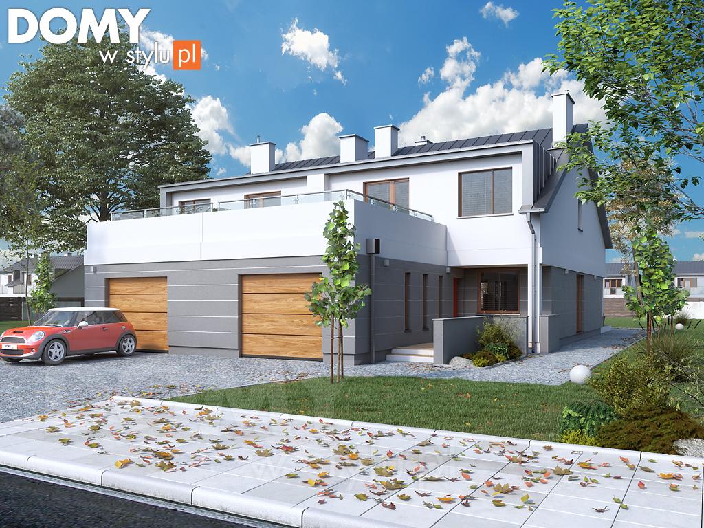 Ile kosztuje projekt domu bliźniaka?